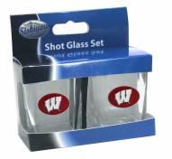 Wisconsin Badgers Shot Glass Set