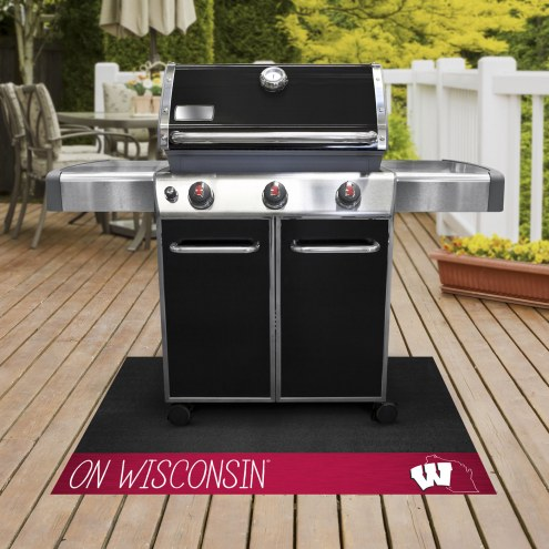 Wisconsin Badgers Southern Style Grill Mat
