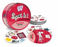 Wisconsin Badgers Spot It! Card Game