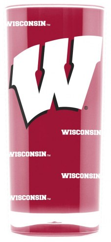 Wisconsin Badgers Square Tumbler