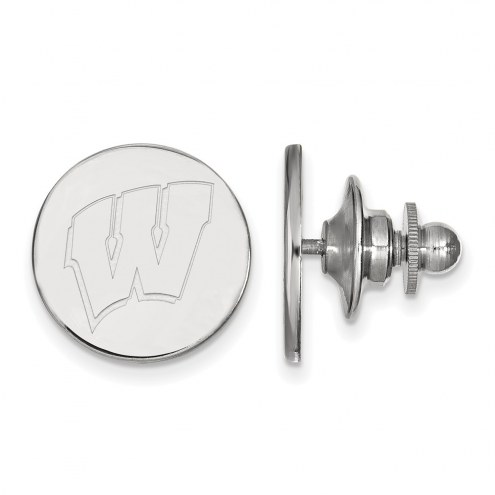 Wisconsin Badgers Sterling Silver Lapel Pin