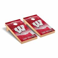 Wisconsin Badgers Stadium Cornhole Game Set