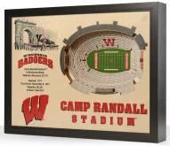 Wisconsin Badgers 25-Layer StadiumViews 3D Wall Art
