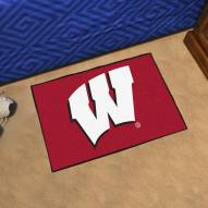 Wisconsin Badgers Starter Rug
