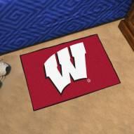 Wisconsin Badgers Starter Rug