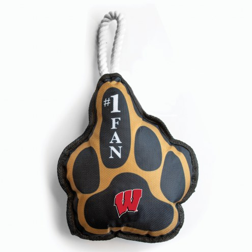 Wisconsin Badgers Super Fan Dog Toy