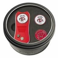 Wisconsin Badgers Switchfix Golf Divot Tool & Ball Markers