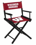Wisconsin Badgers Table Height Director's Chair