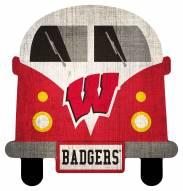 Wisconsin Badgers Team Bus Sign