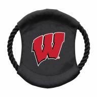 Wisconsin Badgers Team Frisbee Dog Toy