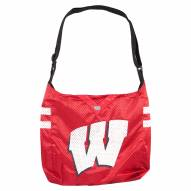 Wisconsin Badgers Team Jersey Tote