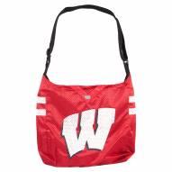 Wisconsin Badgers Team Jersey Tote