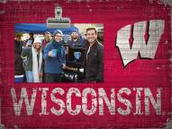 Wisconsin Badgers Team Name Clip Frame