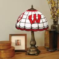 Wisconsin Badgers Tiffany Table Lamp