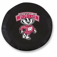 Wisconsin Badgers Tire Cover