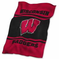 Wisconsin Badgers UltraSoft Blanket