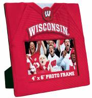 Wisconsin Badgers Uniformed Picture Frame