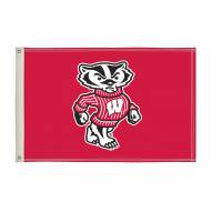 Wisconsin Badgers 2' x 3' Flag