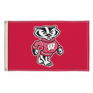 Wisconsin Badgers 3' x 5' Flag