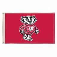 Wisconsin Badgers 3' x 5' Flag