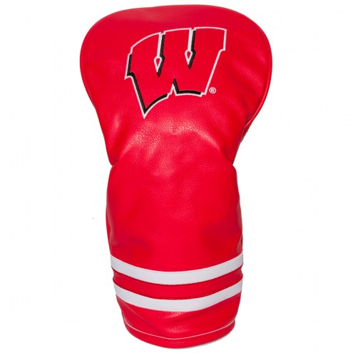 Wisconsin Badgers Vintage Golf Driver Headcover