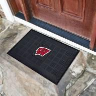 Wisconsin Badgers Vinyl Door Mat