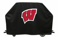 Wisconsin Badgers Logo Grill Cover