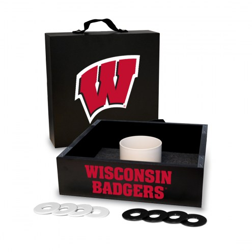 Wisconsin Badgers Washer Toss Game Set