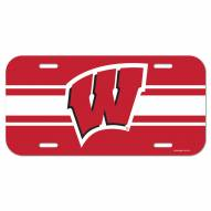 Wisconsin Badgers License Plate