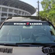 Wisconsin Badgers Windshield Decal
