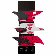 Wisconsin Badgers Wired Hair Tie
