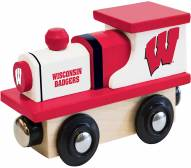 Wisconsin Badgers Wood Toy Train