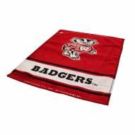 Wisconsin Badgers Woven Golf Towel
