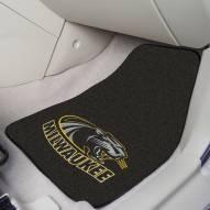 Wisconsin Milwaukee Panthers 2-Piece Carpet Car Mats