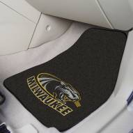 Wisconsin Milwaukee Panthers 2-Piece Carpet Car Mats