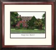 Wisconsin Milwaukee Panthers Alumnus Framed Lithograph