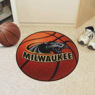 Wisconsin Milwaukee Panthers Basketball Mat