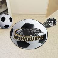 Wisconsin Milwaukee Panthers Soccer Ball Mat
