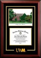 Wisconsin Milwaukee Panthers Spirit Graduate Diploma Frame