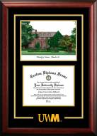 Wisconsin Milwaukee Panthers Spirit Graduate Diploma Frame