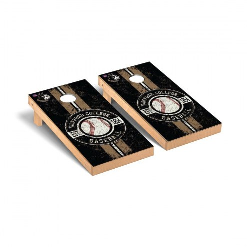 Wofford Terriers Baseball Vintage Cornhole Game Set