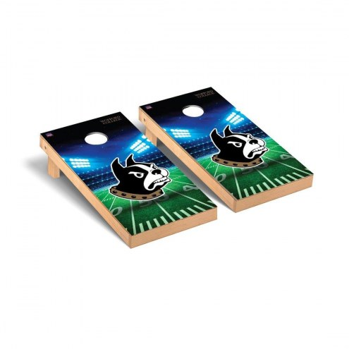 Wofford Terriers Stadium Cornhole Game Set