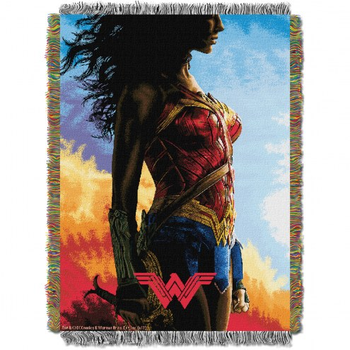 Wonder Woman Movie Classy Throw Blanket