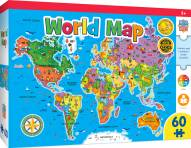 World Map 60 Piece Puzzle