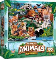 World of Amimals Forest Friends 100 Piece Puzzle