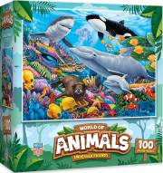 World of Amimals Undersea Friends 100 Piece Puzzle