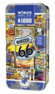 World's Smallest Route 66 1000 Piece Puzzle in a Tin
