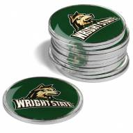 Wright State Raiders 12-Pack Golf Ball Markers