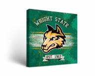 Wright State Raiders Banner Canvas Wall Art