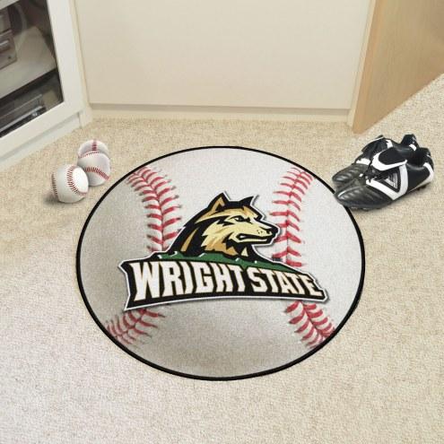 Wright State Raiders Baseball Rug